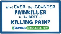 What over-the-counter painkiller is the best at killing pain?