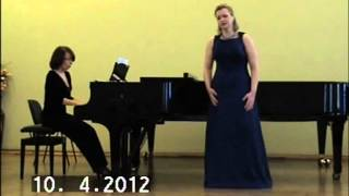 "M.Lysenko - aria Didona from ""Eneida"""