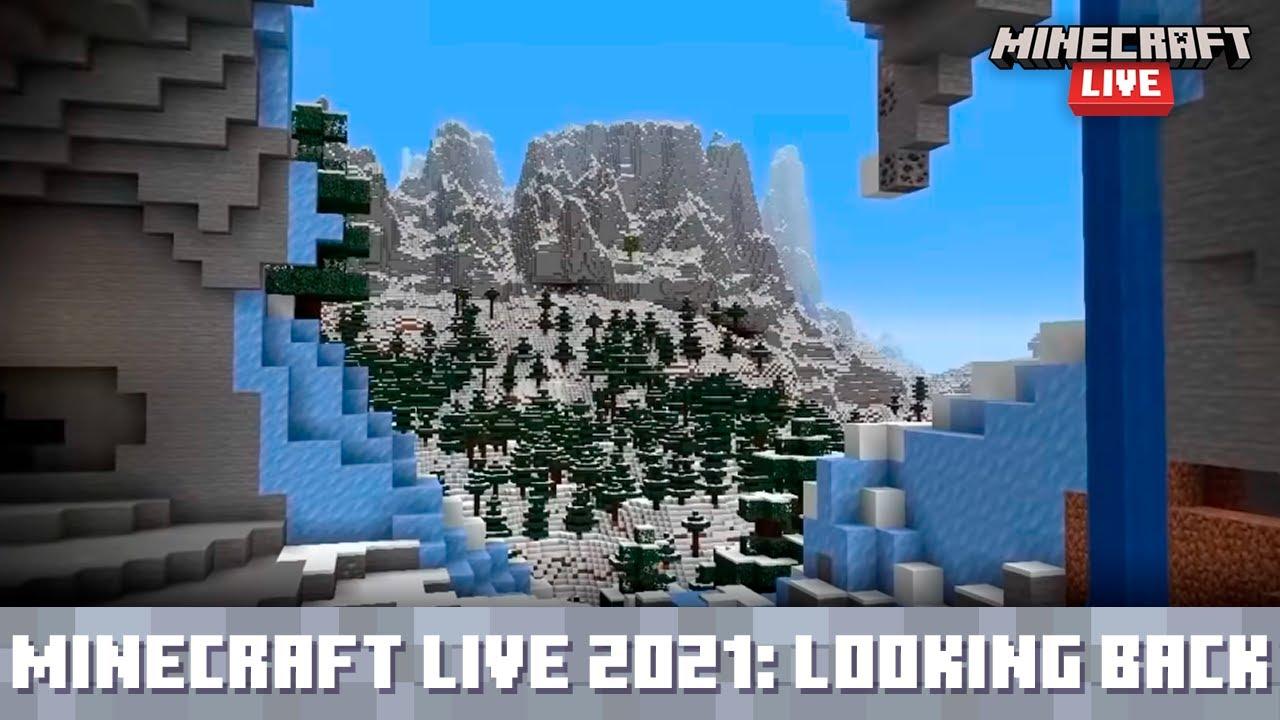 Minecraft Live 2021: The Caves & Cliffs Update