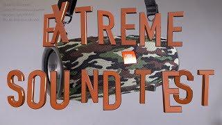 JBL Extreme Sound Test