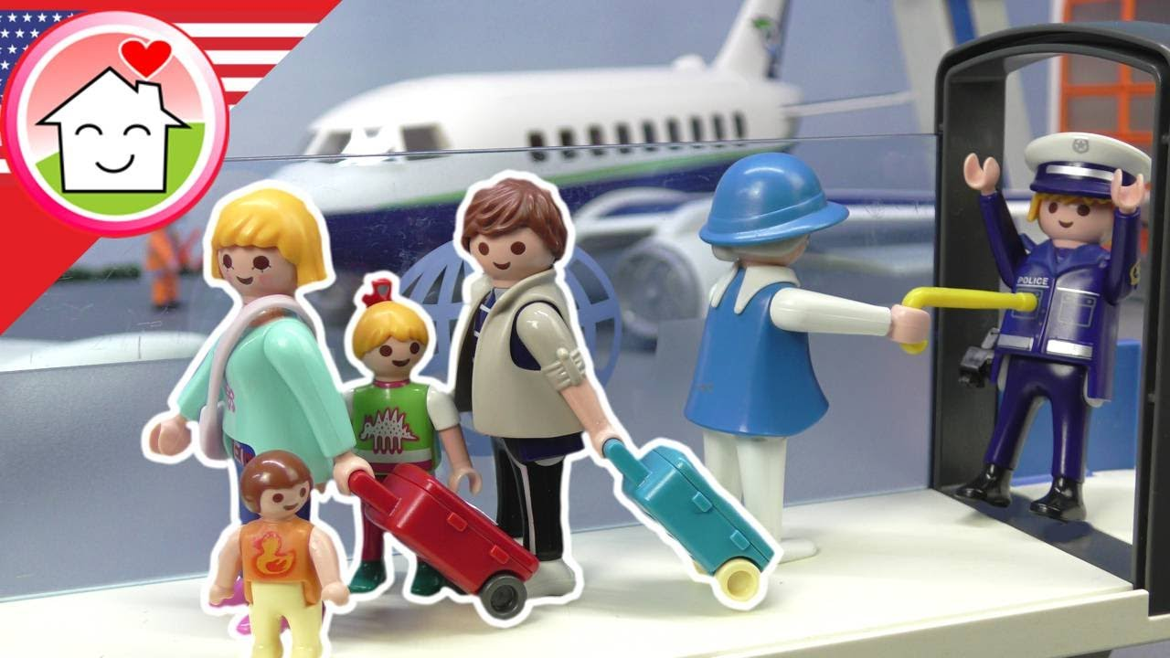 Playmobil English Baggage Thief at the Airport - The Hauser Family