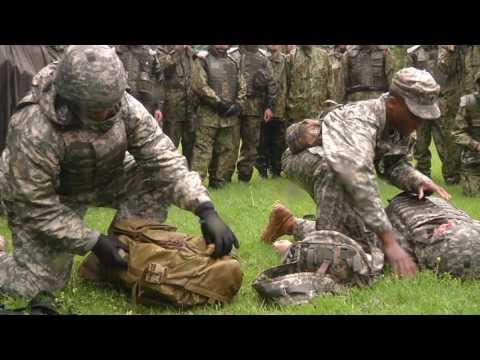 IMCOM BCAT J USA  Joint Tactical Combat Casualty Care  wmv