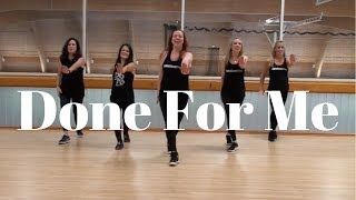 Charlie Puth - Done For Me (feat. Kehlani) | dance fitness choreography by Alana