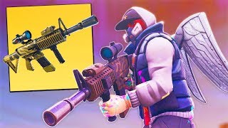 You CAN'T HIDE From The NEW Thermal Scoped AR on Fortnite!