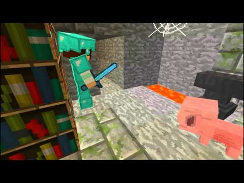 Music video minecraft Cube Land)