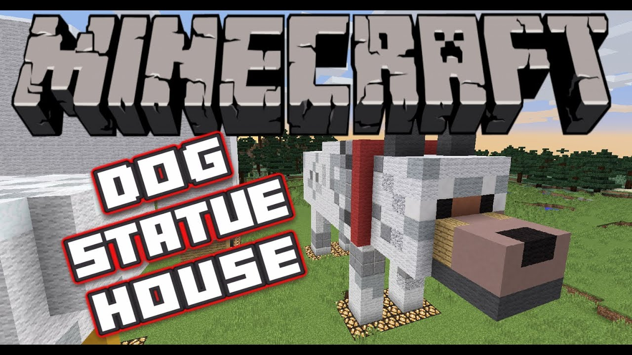 How To Build A Big Dog House In Minecraft