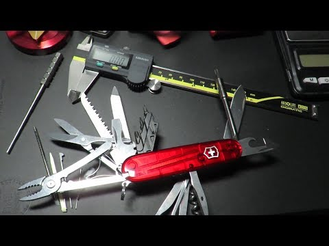 Victorinox Cybertool L (1.7775.T) : 42 Functions : The Best Friend of the Computer Technician