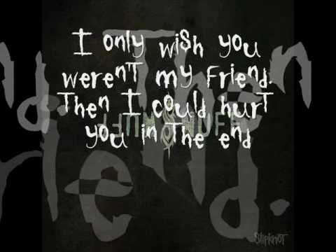 Slipknot-Snuff(Lyrics)