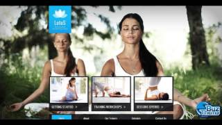 Download Yoga Center Wix Website Template by  Butterfly H