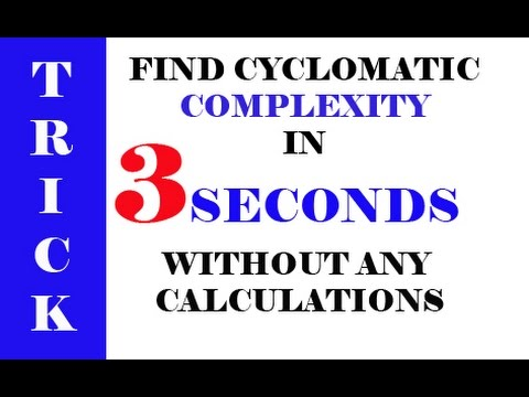 CYCLOMATIC COMPLEXITY IN SOFTWARE ENGINEERING WITH TRICK