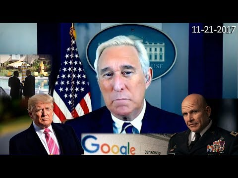 Roger Stone Discusses Trump Administration, H.R. McMaster Latest News & Current Events 11/21/2017
