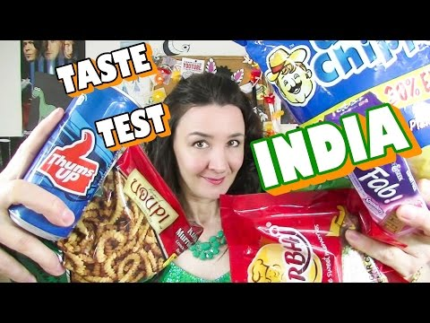 Indian Snacks Taste Test 1
