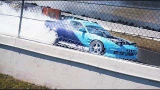 Crazy Tandem Drifting At The Track! (Club Loose Opening Moves)
