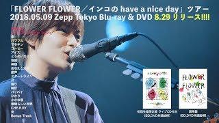 FLOWER FLOWER 初のライブ映像作品のダイジェストをYouTubeで公開