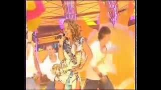 Zhanna Friske y Den Petrov - La La La (Live)