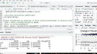 R رمز إعداد لجعل الرسوم البيانية المشروع