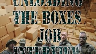 Unloading The Boxes Job Interview