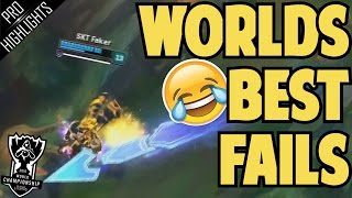 Worlds Best Fails/Funny Moments 2016 | League of Legends
