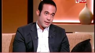 بالفيديو.. نجل أحمد زكي يكشف مراحل التحاقه بالوسط الفني