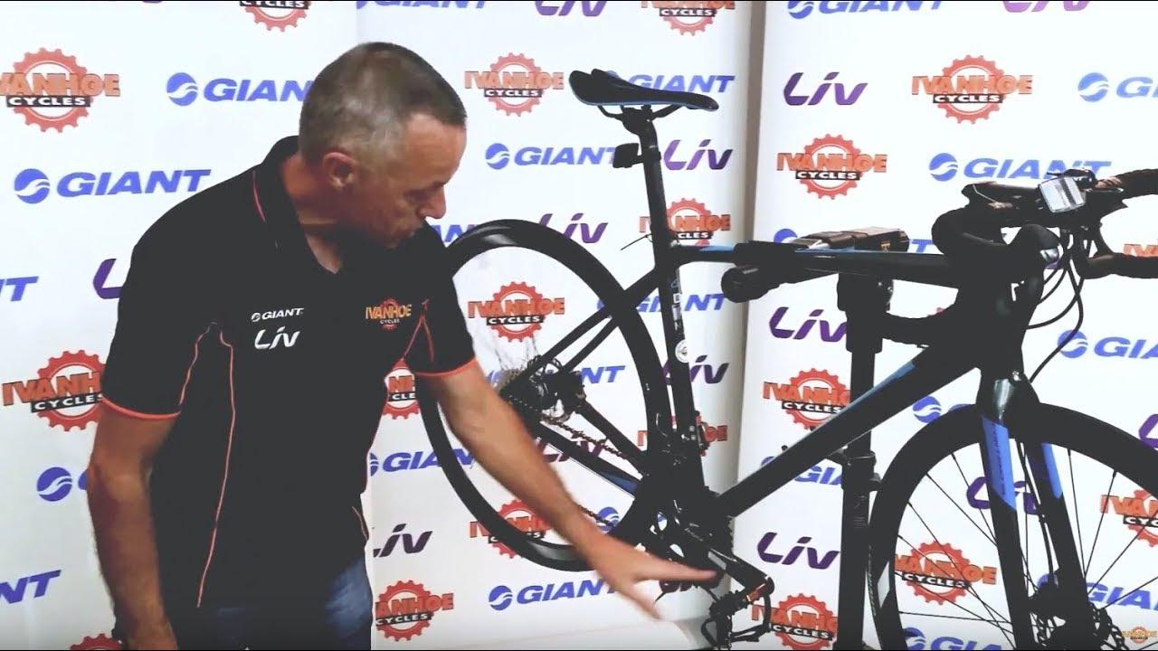 9ddb1093add Giant Contend SL 2 Disc 2018 Road Bike - YouTube