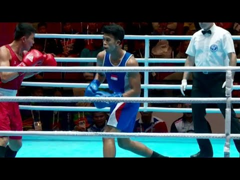 2 Petinju Indonesia Tumbang di Final