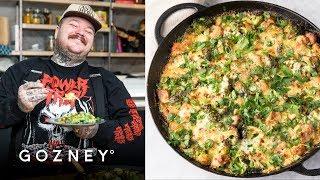 Broccoli Chicken Cheddar Curry Casserole | Guest Chef: Matty Matheson