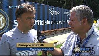 RITIRO PINZOLO 2013 - INTERVISTA GIUSEPPE PONDRELLI