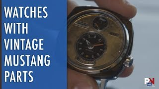 Vintage Watches Made From Vintage Mustang Parts