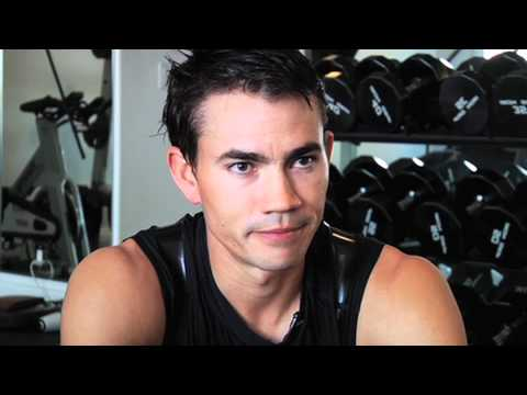 Working out with Camilo Villegas