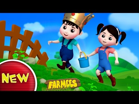 Jack and Jill Went Up The Hill  Nursery Rhymes  Kids   Part 1 Baby Rhymes by Farmees