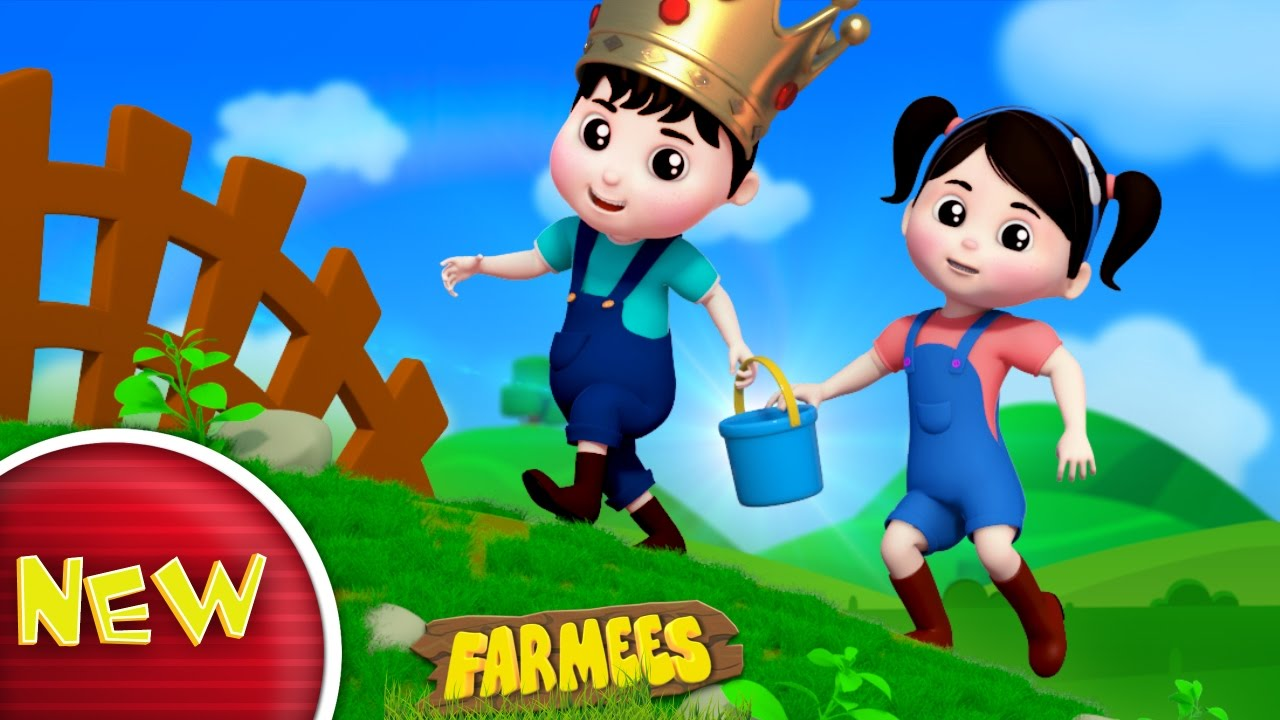 Jack And Jill Went Up The Hill Nursery Rhymes Kids Songs Part 1 Baby By Farmees