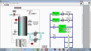 Simulación de Procesos en el Laboratorio Virtual de Control