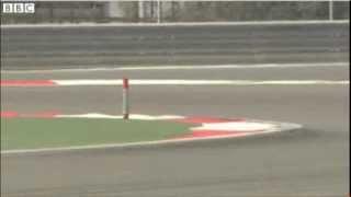 Red Bull's Sebastian Vettel Spins in Bahrain Testing 3 Day 4