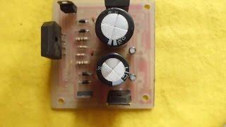 Como hacer una fuente de alimentación variable con el LM317 y LM337 | desde 3v - 55v/3A.