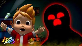 Monsters in the Dark | Halloween Songs & Music for Kids | Spooky Rhymes | Scary Songs  Kids Tv