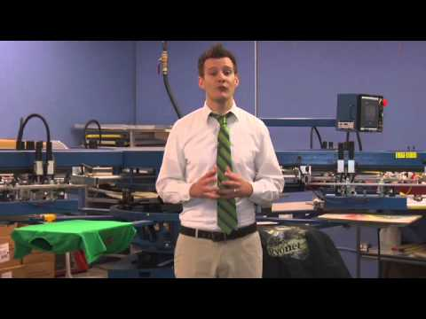 How to Screen Print - the business side - Detailed instruction - Screen Printing 101 DVD pt 39