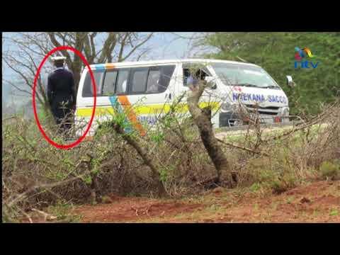 Drama as EACC officers arrest traffic police in Kajiado
