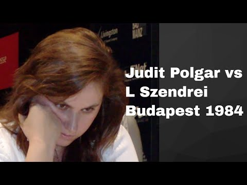 Sicilian Defence: Judit Polgar vs L Szendrei