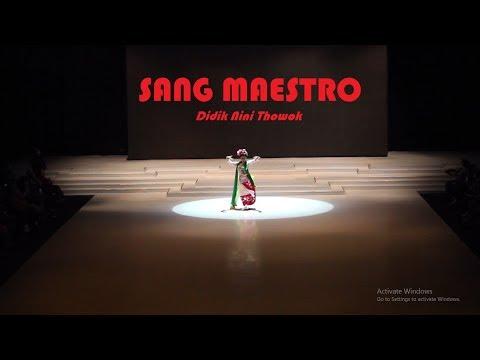 SANG MAESTRO Didik Nini Thowok - Biografi / English Subtitle