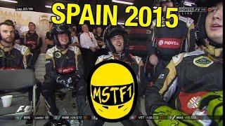 2015 Spanish Grand Prix – Mystery Science Theater F1