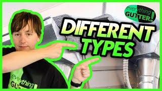 The Different types of gutter - Rain Gutter Types!