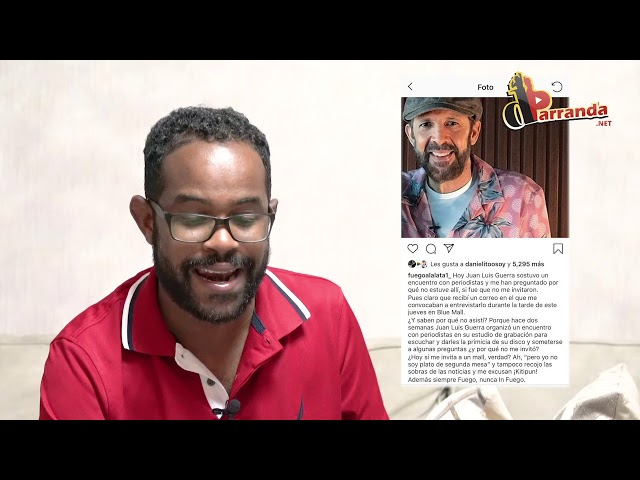 Santiago Matias Alofoke, Luz García y Fuego a La Lata en conflicto por entrevista a Juan Luis Guerra
