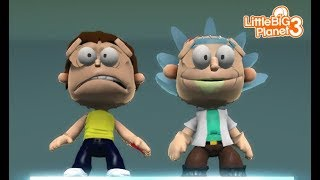 LittleBIGPlanet 3 - Rick and Morty [Playstation 4]