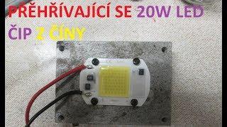 Přehřívající se 20W LED čip z Číny
