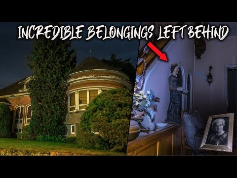 UNTOUCHED Abandoned Family Mansion Discovered With Everything Left Behind - Incredible Decay Inside!
