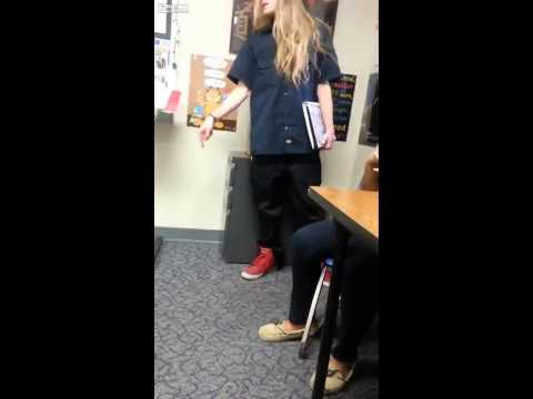 Long Haired Student OWNS Teacher In Classroom Argument