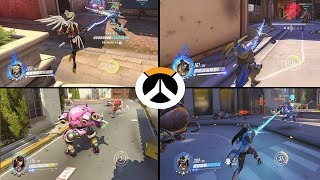 Overwatch All Heroes in Third Person Mode