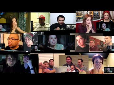Star Wars: The Force Awakens Trailer #3 Reaction Compilation Alpha