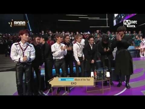 161202 EXO - Album Of The Year || MAMA Awards 2016