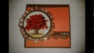 Just Another Fall Card - Easel Card
